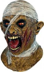 Maschera mummia adulti Halloween