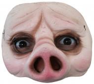 Mezza maschera maiale adulto