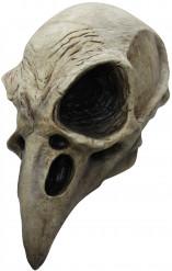 Maschera scheletro uccello adulto Halloween