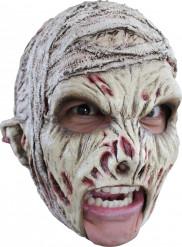 Maschera mummia spaventosa adulto Halloween