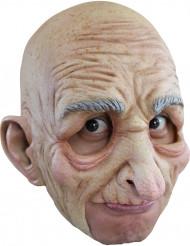 Maschera da vecchio uomo per adulto in lattice