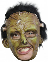 Maschera mostro verde con bulloni adulto Halloween