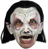 Maschera vampiro bianca adulto Halloween