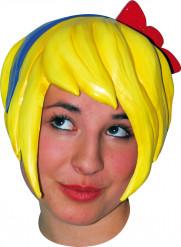 Parrucca manga fiocco adulto donna