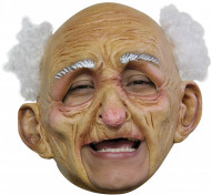 Maschera vecchio uomo adulto Halloween