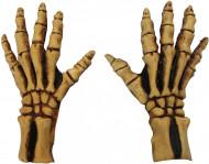 Guanti scheletro adulto Halloween