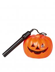 Lampada torcia zucca Halloween