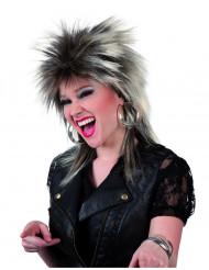 Parrucca punk adulto donna