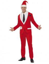 Costume Babbo Natale elegante adulto