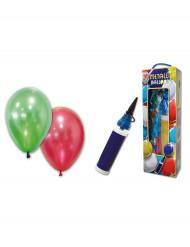 Palloncini metallici con pompa