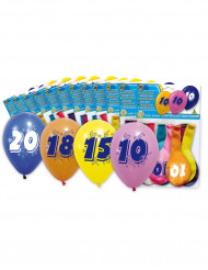 8 palloncini per 50 anni