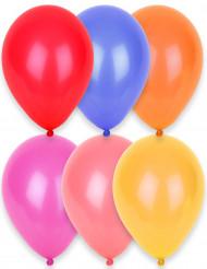 24 palloncini di diversi colori 25 cm.