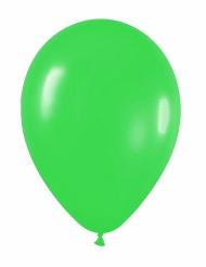 12 palloncini verdi