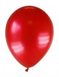 12 palloncini rosso scuro metallizzato