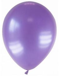 12 palloncini viola metallizzato