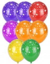 8 palloncini stelle