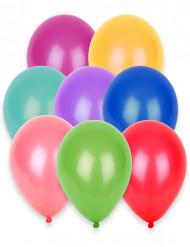 100 palloncini colori vari 27 cm