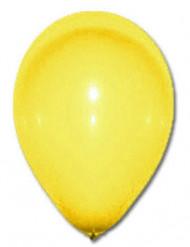 100 palloncini gialli 27 cm