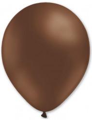 100 palloncini marroni 27 cm