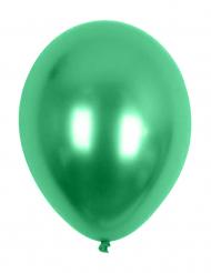 Palloncini metallizzati verdi 29 cm