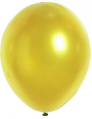 Palloncini metallizzati oro 29 cm