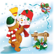 20 tovaglioli Natale