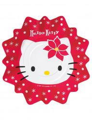 Piatti di carta Hello Kitty™ in rosso