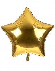 Palloncino alluminio gigante stella dorata 80 cm