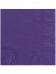 20 tovaglioli di carta viola