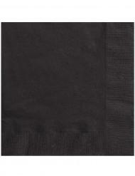 Confezione di 50 tovaglioli neri