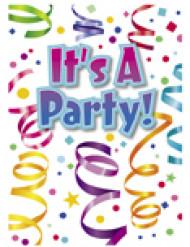 8 Inviti per festa