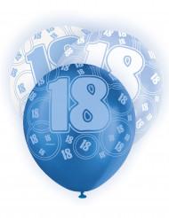 Palloncini blu 18 anni