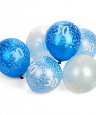 Palloncini blu 30 anni