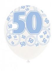 Palloncini blu 50 anni