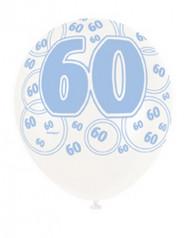 Palloncini blu 60 anni
