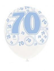 Palloncini blu 70 anni
