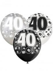 Palloncini grigio 40 anni