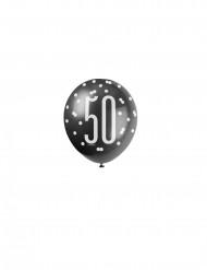 Palloncini grigio 50 anni
