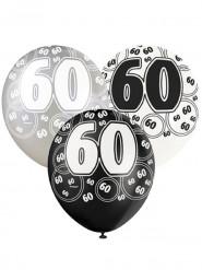 Palloncini grigio 60 anni
