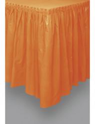Gonna per tavolo di plastica arancione