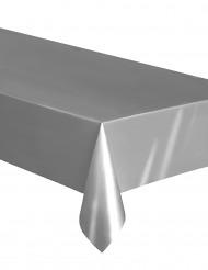 Tovaglia rettangolare in plastica argento
