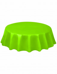 Tovaglia rotonda di plastica verde