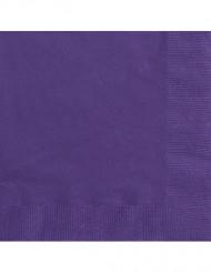 50 tovaglioli di carta viola