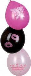6 palloncini principessa
