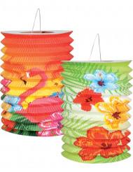 2 lanterne Hawaii