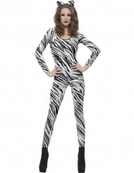 Costume zebra adulto