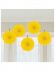 Decorazioni a soffitto gialli