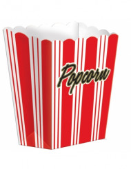 8 Contenitori di carta Pop Corn Hollywood