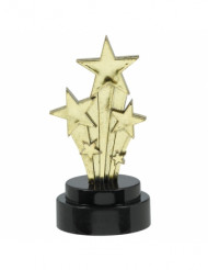 Statuetta stelle filanti Hollywood 7.5 cm