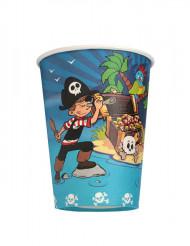 6 bicchieri pirata 25 cl